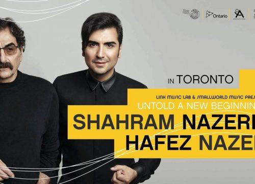 Shahram Nazeri & Hafez Nazeri In Toronto